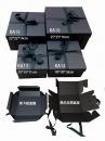 X363 黑色瓦楞手提盒