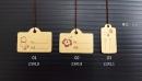 T27 有線牛皮紙系列 小吊牌