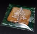V351聖誕節OPP自黏糖果袋「綠色聖誕樹」