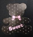 S165 禮物吊卡「點點熊」