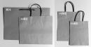 W29 手提紙袋「灰色素牛皮紙袋」