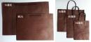 M13 手提紙袋「深咖啡素牛皮紙袋」