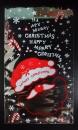 U105聖誕節OPP立體糖果袋「聖誕老公公」