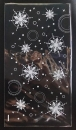 U107聖誕節OPP平口糖果袋「雪花」