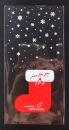 U109聖誕節OPP立體糖果袋「聖誕襪」