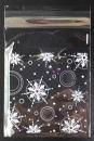 V363聖誕節OPP自黏糖果袋「雪花」