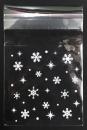 V259 聖誕節OPP自黏糖果袋「雪花」