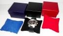 X312 方型皮紋枕頭手錶盒