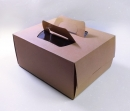 X391 牛皮長形蛋糕盒