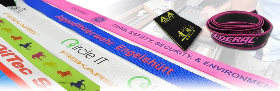 識別證帶印刷,防滑矽膠加工,永傑網版印刷廠