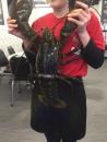 稀有巨大波士頓龍蝦