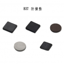 B37 防撞墊 1片B37-1S-1(黑色-100顆)