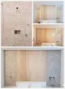 泥作工程-桃園平鎮住家貼壁磚及大理石泥作工程