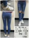 0502535 牛仔窄管褲 $300