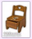 愛戀物語-小靠背椅