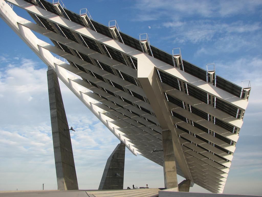 工廠屋頂太陽能設備
