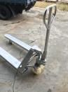 全白鐵油壓拖板車