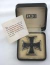 [已售出 SOLD] 盒裝一級鐵十字 L/56
