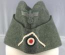 二戰德軍陸軍M34便帽,步兵科
