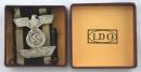 [已售出 SOLD] 盒裝二鐵鷹飾,打標L/14, F. Orth作品