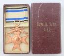 [已售出 SOLD] 三等巴伐利亞十字 - 盒裝品 Bavarian Cross