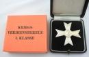 [已售出 SOLD] 庫存盒裝文職一級戰功獎章,打標 1 號,Deschler