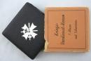 二戰德軍庫存盒裝一級戰功獎章,打標43號