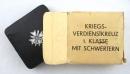 二戰德軍庫存盒裝一級戰功獎章,打標65號