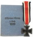 二級鐵十字,55號打標 J.E. Hammer & Söhne