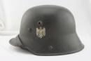 [已售出 SOLD] 納粹時期M16頭盔,雙盾徽