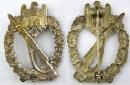 [已售出 SOLD] 銀級步兵突擊章,B H Mayer廠作品