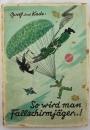 稀有二戰德國傘兵讀物!