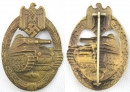 [已售出 SOLD] 銅級戰車突擊獎章,B.H. Mayer廠