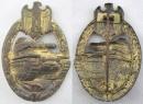 [已售出 SOLD] 二戰德軍銀級戰車突擊章。Deumer 廠雛菊戰車作品