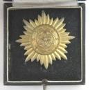盒裝一等金級東方人民志願軍獎章,鋅質金漆