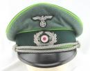 [已售出 SOLD] 罕見!二戰德國陸軍裝甲擲彈兵軍官盤帽,EREL廠後期品。