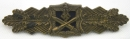 二戰德軍,極品!銅級近戰章,罕見藍背板!