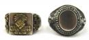 [已售出 SOLD] 二戰德國,北非戰役紀念戒指一對