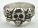 二戰德國骷髏造型戒指,非官方的私購品