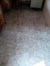 貼塑膠地板2