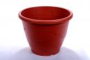 塑膠製紅色花盒