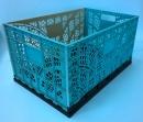 塑膠製輕巧摺疊籃