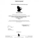 美國HAWKEYE內視鏡系列代理證明書