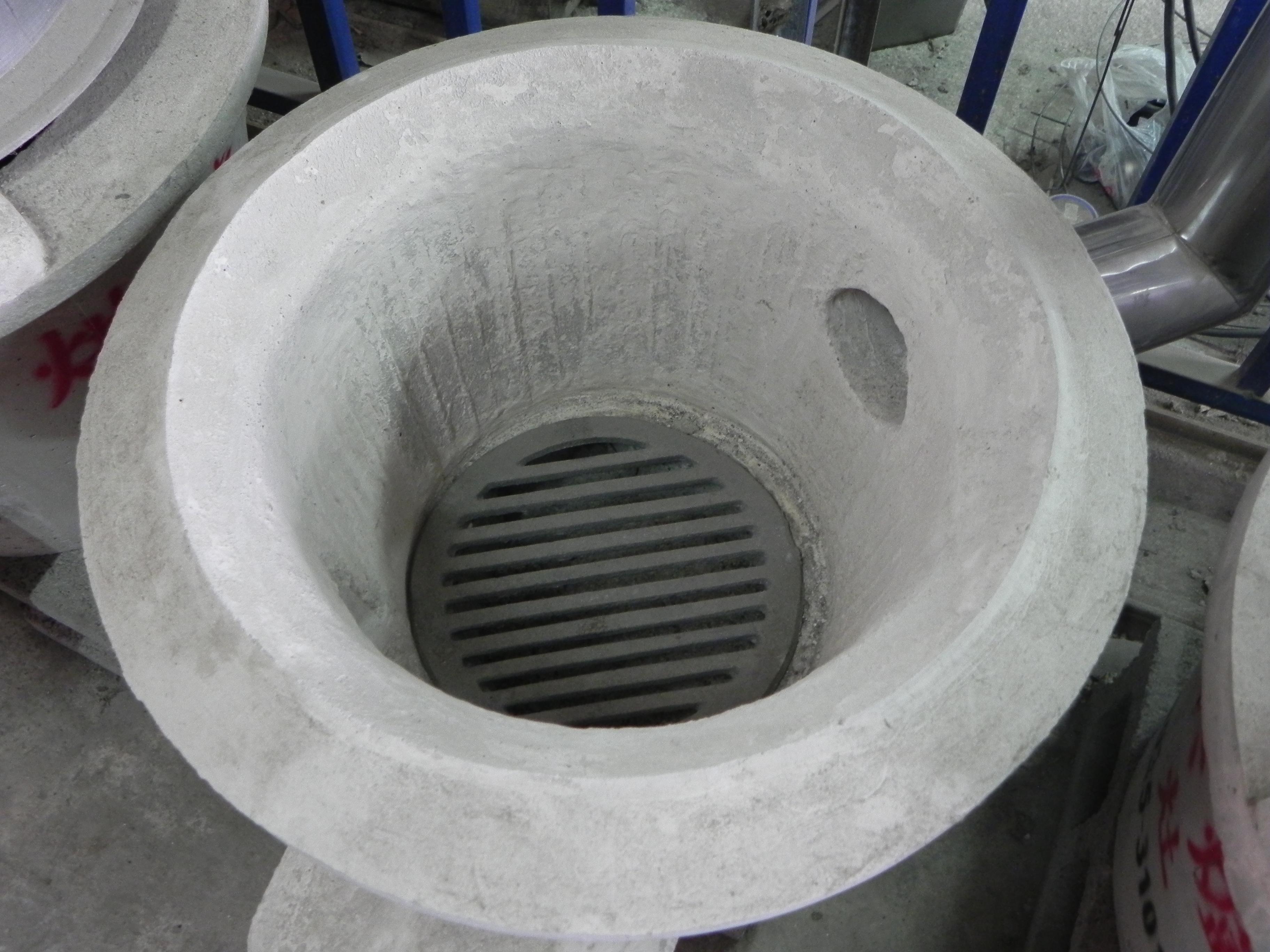 耐火烘爐 (古早灶) 內含鑄鐵爐只.JPG