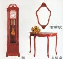 玄關鏡玄關桌鐘