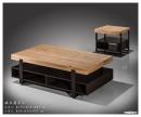 106(3039)鐵木真雙層沙發桌