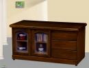 106(5010)4尺胡桃木實木矮櫃