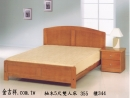 (吉祥)柚木5尺雙人床