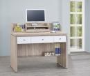 106(3013)4尺橡木白電腦書桌