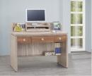 106(3013)4尺橡木柚木電腦書桌